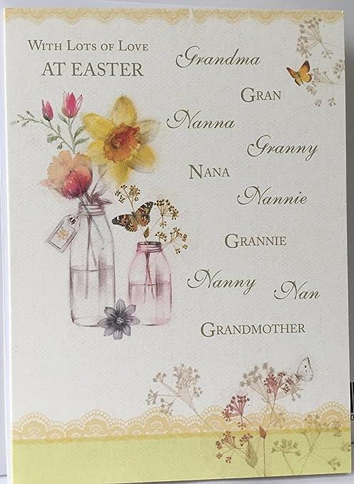 En Semana Santa abuela, GRAN NAN Nana ETC Tarjeta de ...