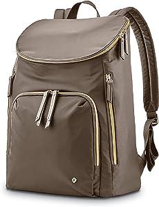 Samsonite Women's Mobile Solution Business Travel (Caper Green, Deluxe Backpack)