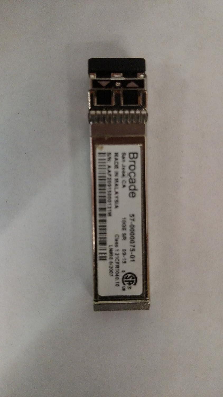 Brocade Storage 57-0000075-01 compatible 10Gigabit /& STM64 SR SFP+ Transceiver 10G 300m MM 850nm