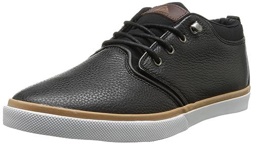Quiksilver Griffin FG - Zapatillas para Hombre, Color Negro/Marrón/Blanco, Talla 46