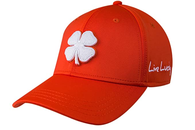 Black Clover Premium #79 Fitted Orange Cap (S/M) at Amazon Mens Clothing store: