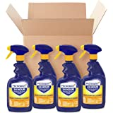 Microban Disinfectant Spray, 24 Hour Sanitizing and Antibacterial Spray, All Purpose Cleaner, Citrus Scent, 4 Count, 22 fl oz