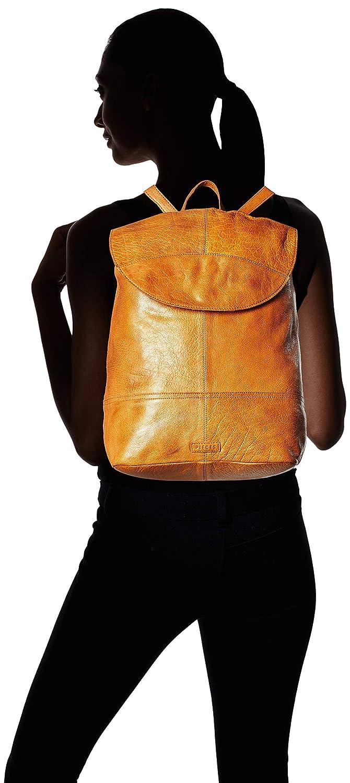 Pctyra Pieces Rucksackhandtasche Damen Backpack Leather Braun 5xIUgxw