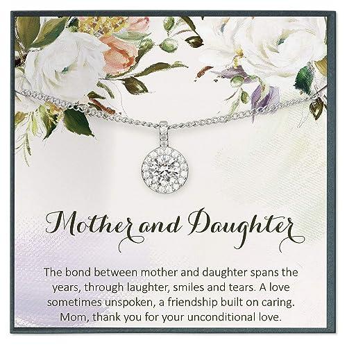 Grace of Pearl Collar de Perlas para Madre e Hija, Regalo de ...
