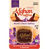 Ayoub Khan's Afghan Organically Grown Saffron/Kesar (1g, AKS02)