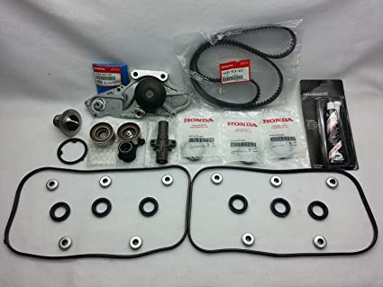 06 11 HONDA RIDGELINE GENUINE/OEM COMPLETE TIMING BELT WATER PUMP U0026 GASKET  KIT