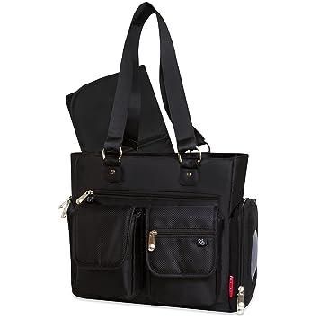 1b4e61e30cc Amazon.com   Fisher-Price Fastfinder Black Tote Bag   Baby