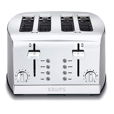 Amazon.com: Krups KH734D set de desayuno de 4 ranuras ...