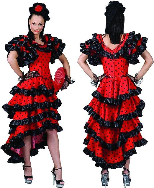 Funny Fashion Disfraz de Mujer Bailarina de Flamenco española ...