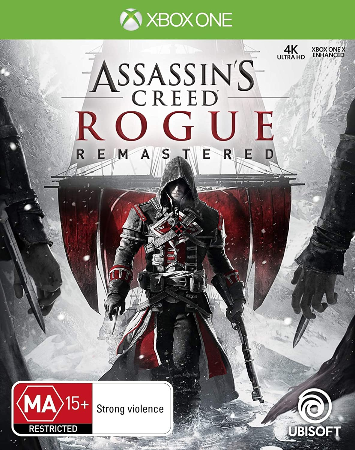 Amazon Com Assassin S Creed Rogue Remastered Xbox One Video Games