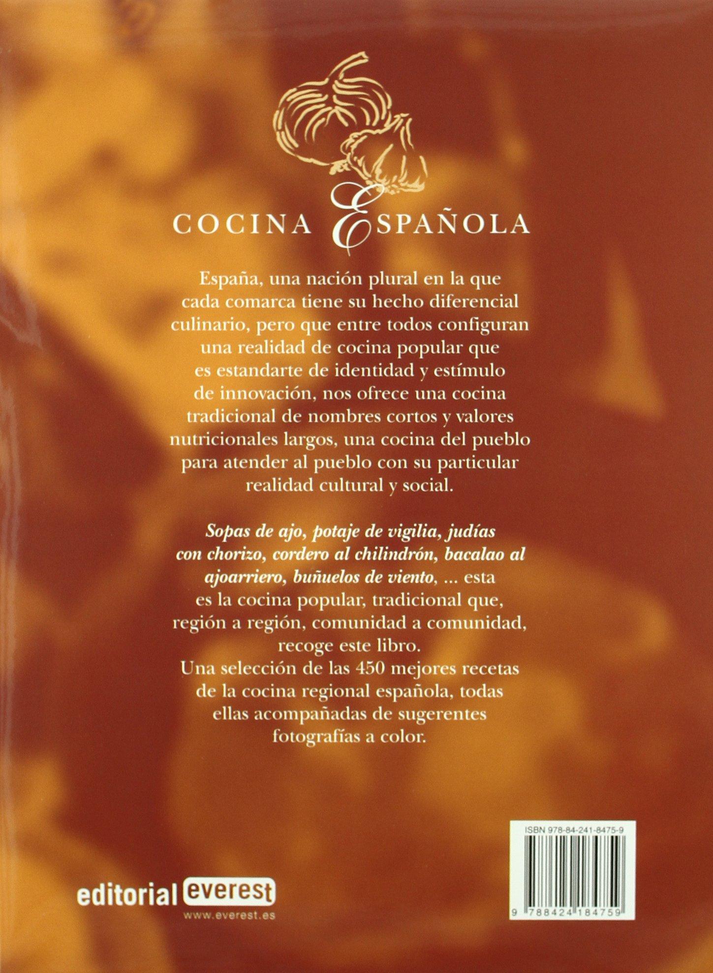 El Gran Libro de la Cocina Española. Las 450 mejores recetas Lo mejor de la cocina regional: Amazon.es: Fidalgo Sanchez, Jose Antonio: Libros