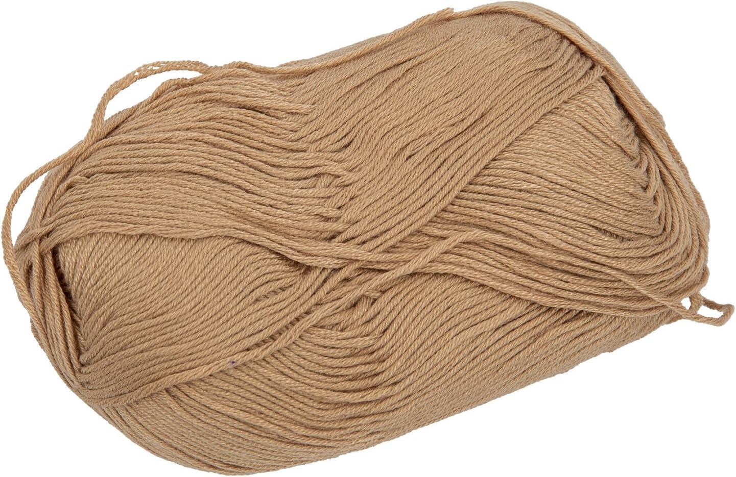 SODIAL(R) 50g tencel bambu hilados de algodon para el bebe (de color caqui) : Amazon.es: Hogar