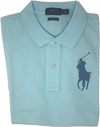Polo Ralph Lauren Women/'s Skinny Fit Big Pony Polo Shirt