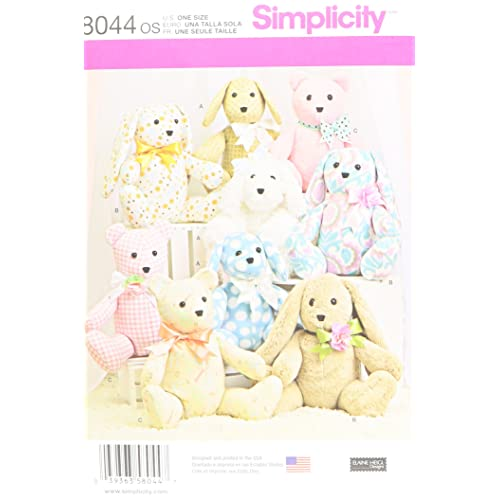 Teddy Bear PATTERNS Sewing Amazoncouk Best Teddy Bear Patterns