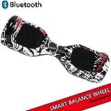 """Dragon Tecnology Hoverboard con Ruedas de 6.5"""" Scooter eléctrico Self-Balancing Self Blance Scooter Monopatín eléctrico Smart Self Balance Board Dibujo"""