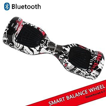 """Hoverboard con ruedas de 6.5"""" Scooter eléctrico Self-Balancing Self Blance Scooter Monopatín eléctrico"""