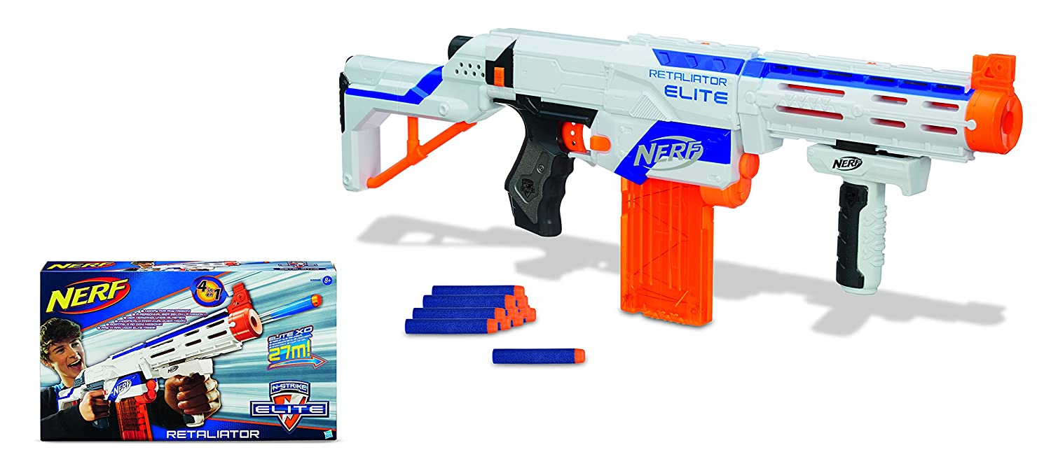 Nerf N-Strike Elite Retaliator New-Open-Box (NOB) w/