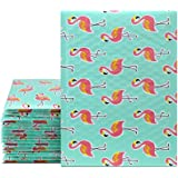 UCGOU 6x10 Inch Flamingo Designer Bubble Mailers Padded Envelopes Boutique Custom Bags Pack of 25pcs