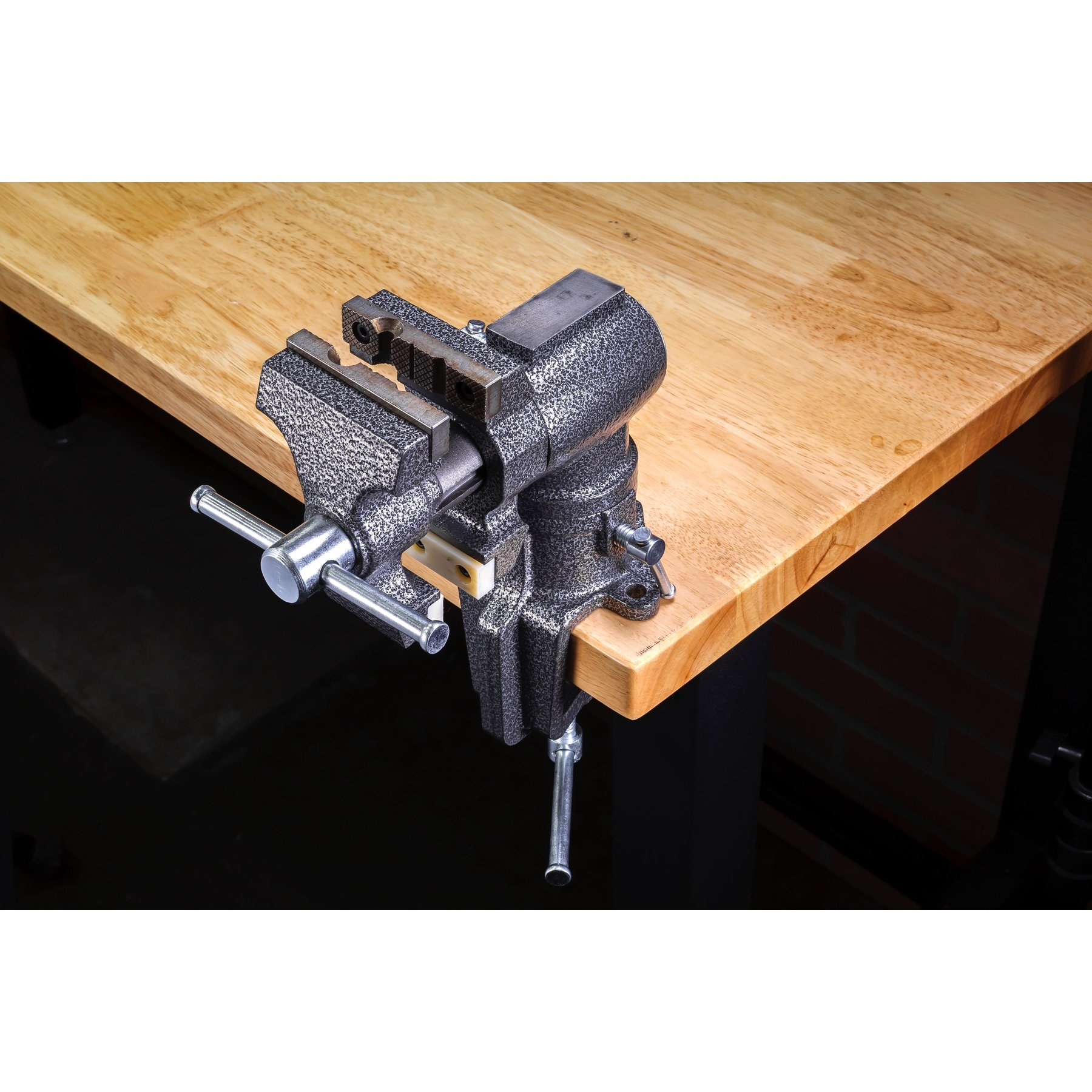 Toolsmith 2-1/2'' 2'' Jaw Clamp-on Vise Swivels and Rotates 360 Degrees - 240006
