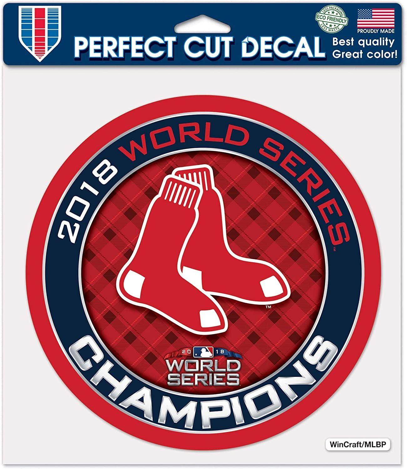 Boston Red Sox Official MLB 11 inch x 17 inch Car Window Cling Decal by Wincraft