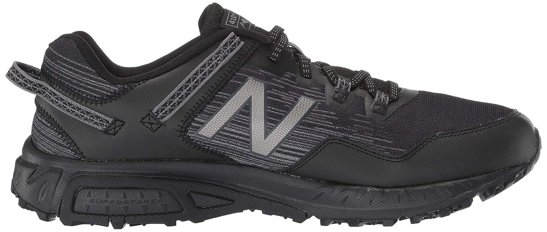 New Balance Herren 410v6 Cushioning Trail, Laufschuh Black/Castlerock/Dark Silver