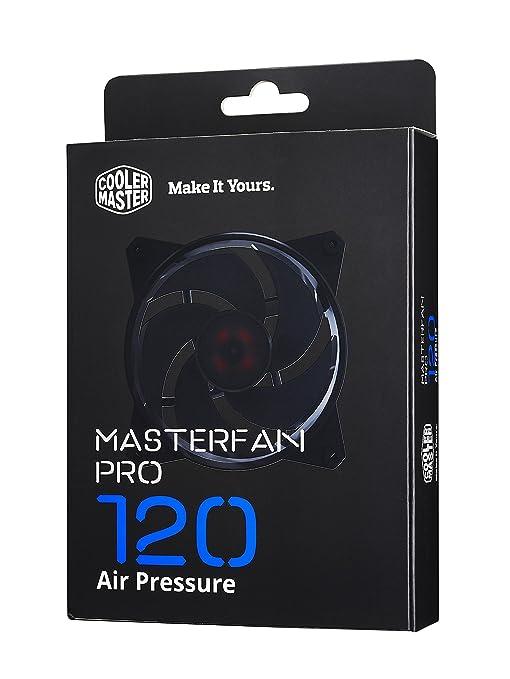 5 opinioni per Cooler Master MasterFan Pro 120 Air Pressure Computer case Ventilatore