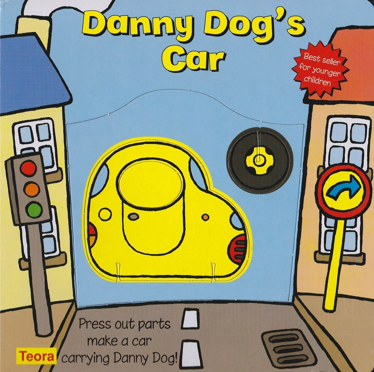 Download Danny Dog's Car: Press Out Parts Make a Car Carrying Danny Dog! (Toddler Make and Play) pdf