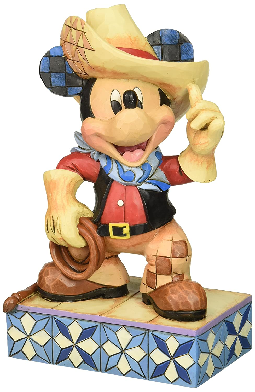 Disney Traditions 4033286 Cowboy Mickey Figur