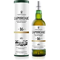 Laphroaig 16 Ans Single Malt Whisky (1 x 0.7 l) - Exclusivité Amazon