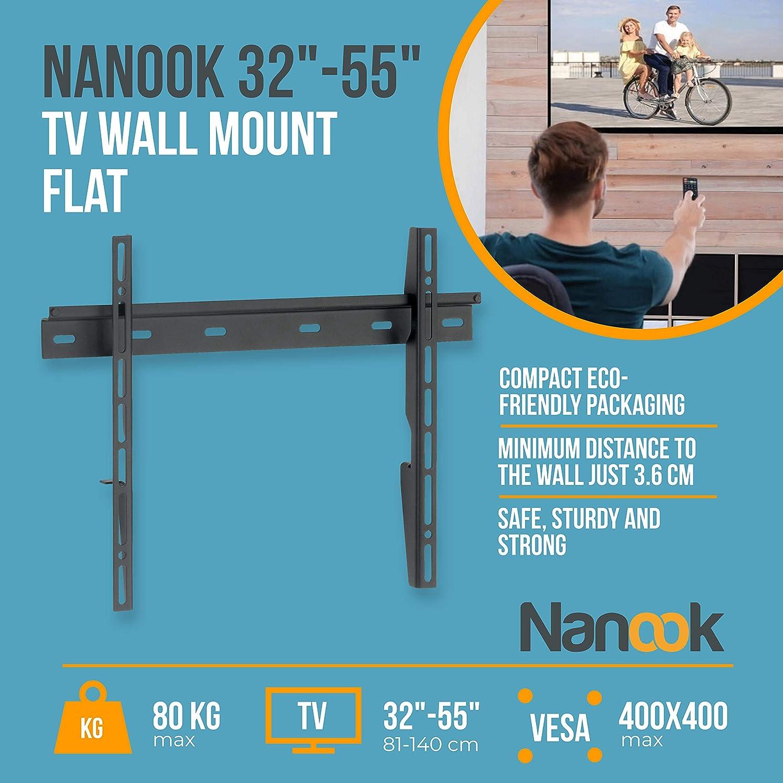 Metal 32-55 Nanook Flat M Soportes de Pared y Techo para TV