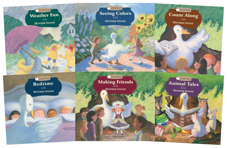 Download Mother Goose Nursery Rhymes (Set of 6) pdf