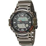 Relógio esportivo masculino Casio Pro Trek Quartzo com pulseira de resina