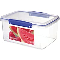 Sistema Klip It 3L Food Storage Container, Clear