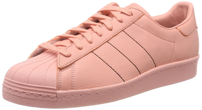 Rose (Trace rose F17 Trace rose F17 Trace rose F17) adidas Superstar 80s, Chaussures de Gymnastique Homme 41 1 3 EU