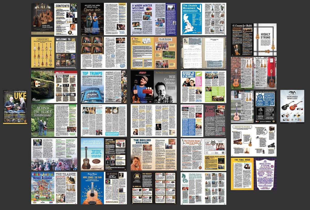 UKE – Das erste Ukulele-Magazin Großbritanniens – Thema 9: Amazon.de ...