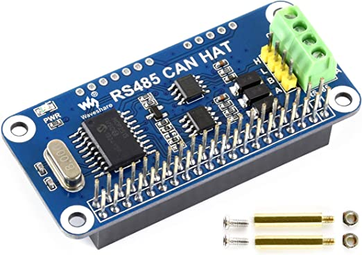 For Raspberry Pi RS485 CAN HAT Allows Stable Long-Distance via Functions Onboard