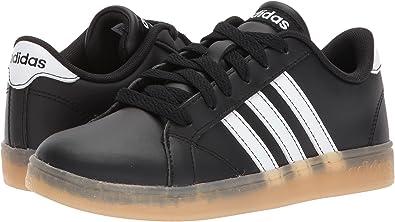 372d9dd71d8 adidas Kids Unisex Baseline K (Little Kid Big Kid) Black White