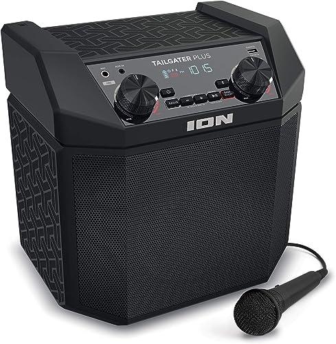 ION Audio Tailgater Plus - 50W Portable Outdoor Wireless Bluetooth Speaker
