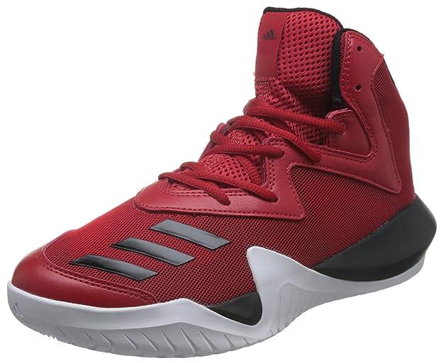 adidas Crazy Team 2017, Chaussures de Basketball Homme, Rouge (Escarl/Negbas /Ftwbla), 42 EU: Amazon.fr: Chaussures et Sacs