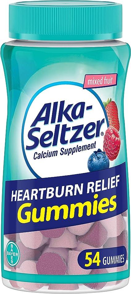 Alka Seltzer Gummies Alivio De La Acidez Estomacal Fruto 54 Unidades Health Personal Care