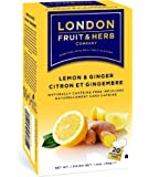 ロンドンフルーツ&ハーブ ティーバッグ レモン&ジンジャー×20袋