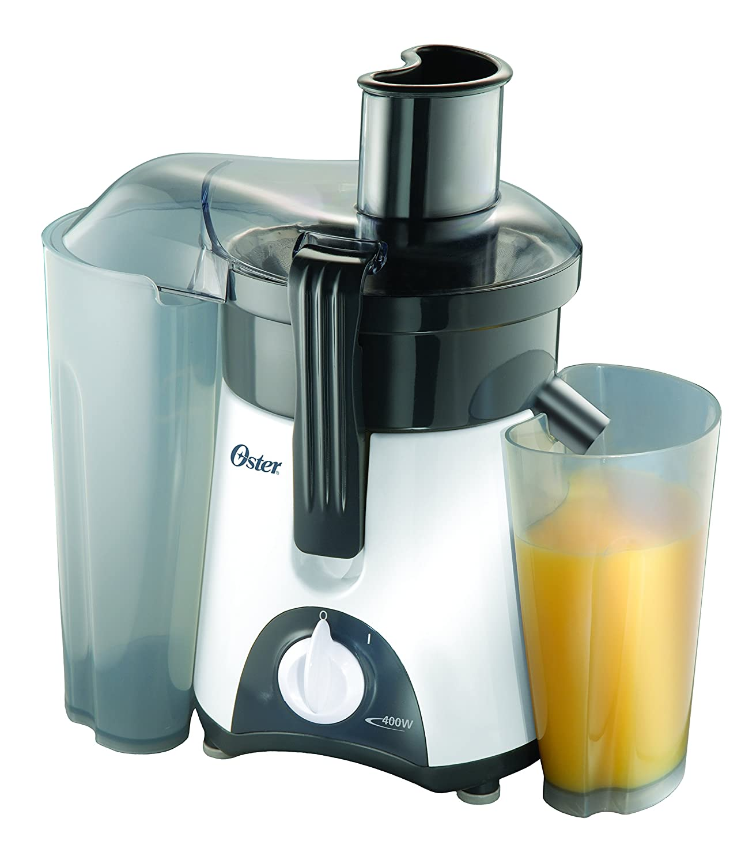 Amazon.com: Oster 3157 400-Watt Single-Speed Juice Extractor, White ...