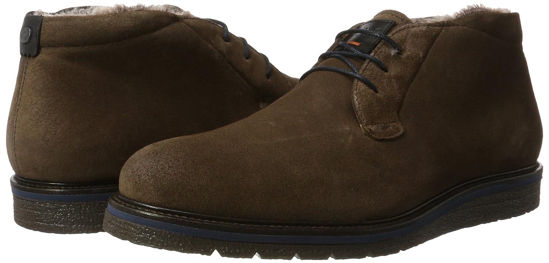 BOSS Herren Boots, Tuned_desb_sdfur 10201446 01 Desert Boots, Herren Braun (Dark Brown) b52668