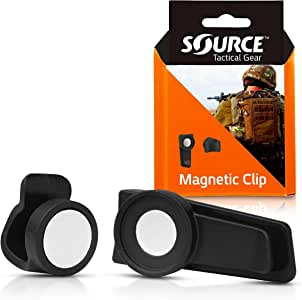 Source Tactical Gear Universal Magnetic Tube Holder Clip (Black)