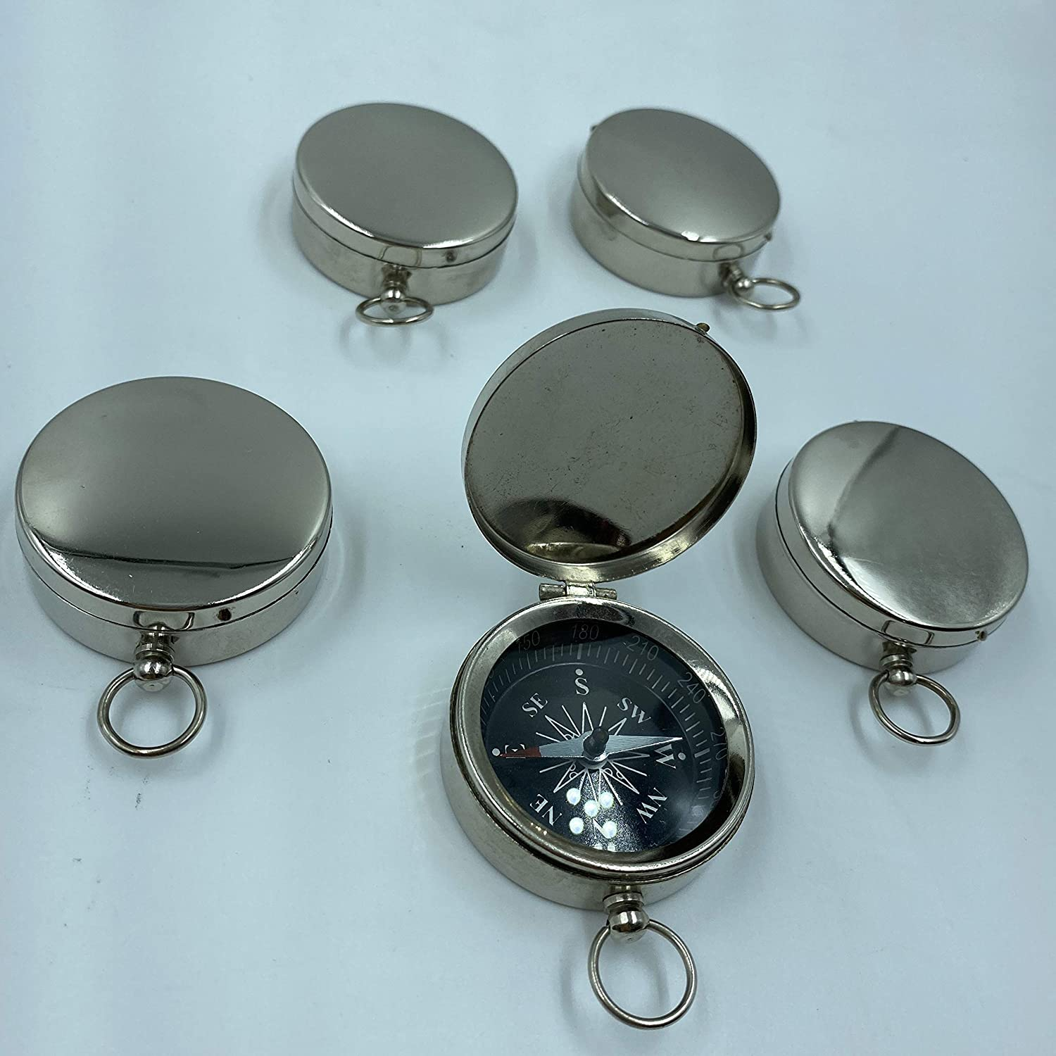AnNafi Kansas City Mall Vintage Pocket Compass NEW before selling Portable Kids for Classic