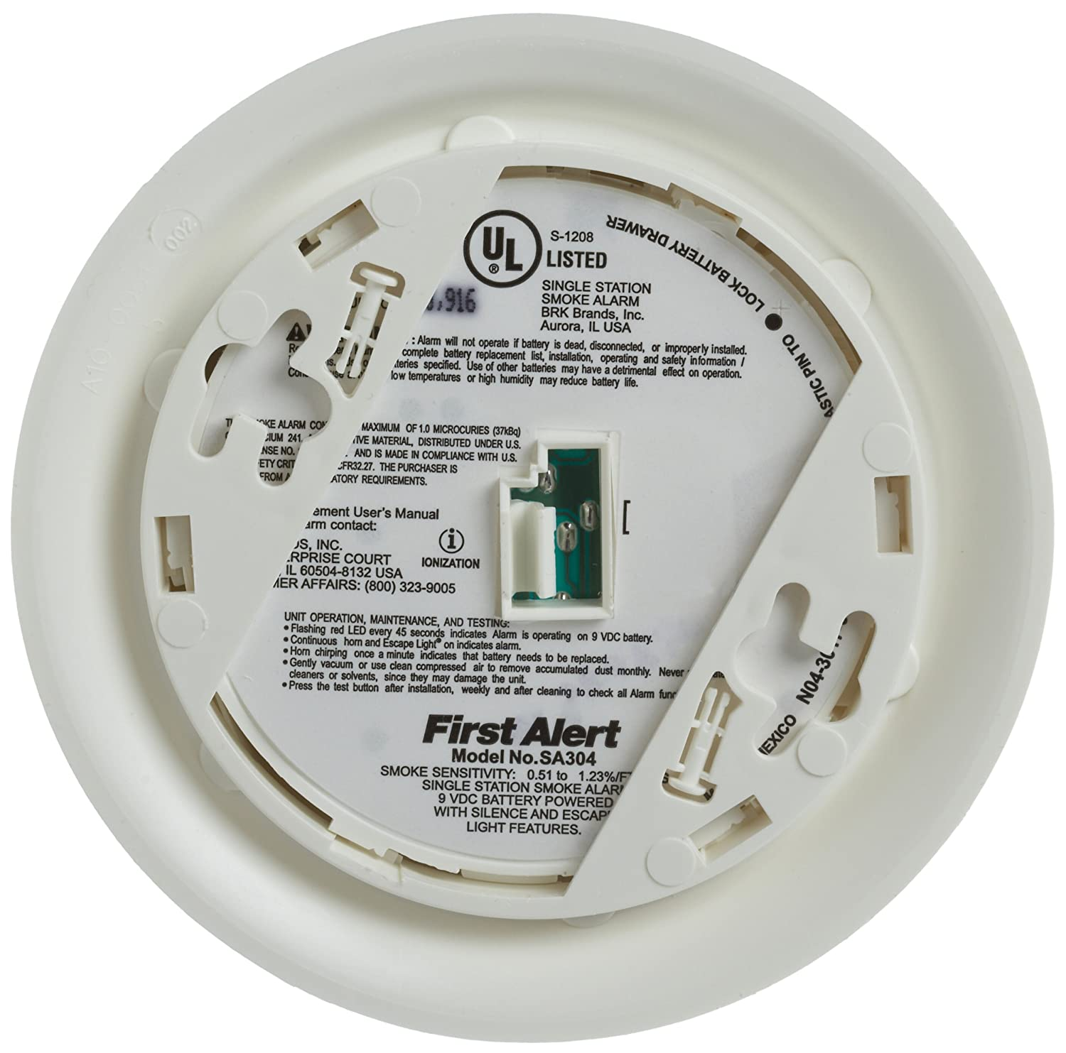 brk smoke and carbon monoxide alarm manual