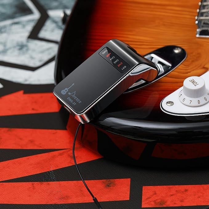Donner - Sistema de guitarra inalámbrica recargable DWS-3 digital ...