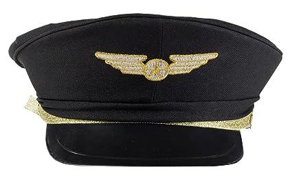 f82ca964 Amazon.com: Airline Pilot Hat Child Costume Accessory: Toys & Games