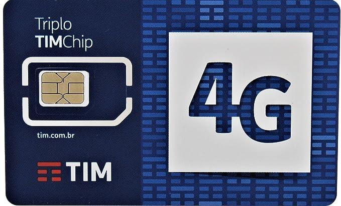 Amazon.com: Brasil tarjeta SIM de prepago by Tim: Prepaid ...
