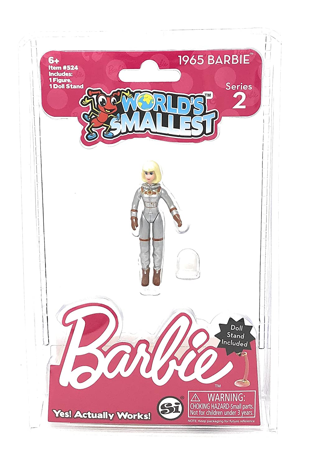 1992 Totally Hair Worlds Smallest Barbie Series 2-2 Pack Bundle 1965 Astronaut